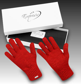 Gloves Subzero Winter red